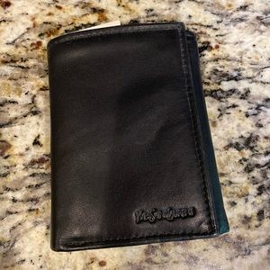 Yves Saint Laurent men's leather wallet